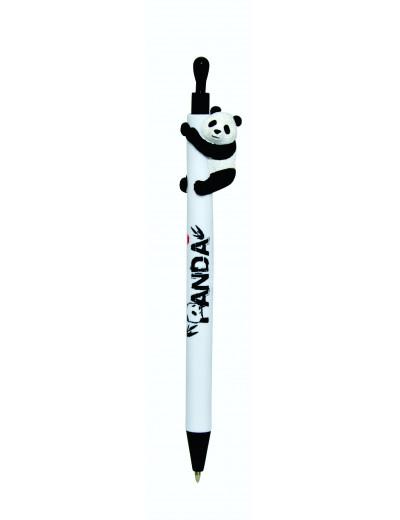 Panda Kugelschreiber weiß