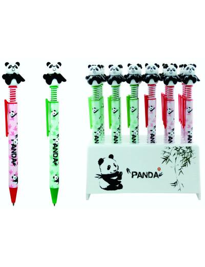 Panda Kugelschreiber grün