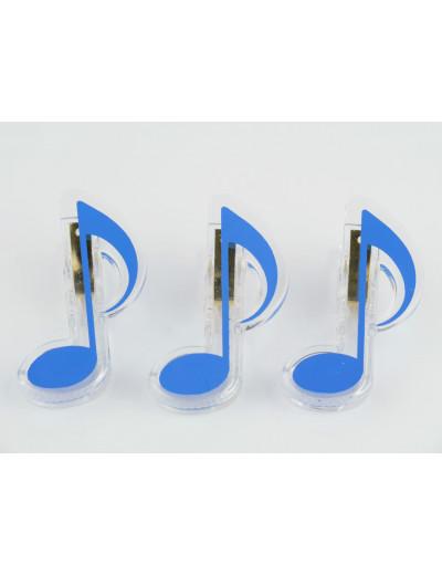 Clip quaver blue
