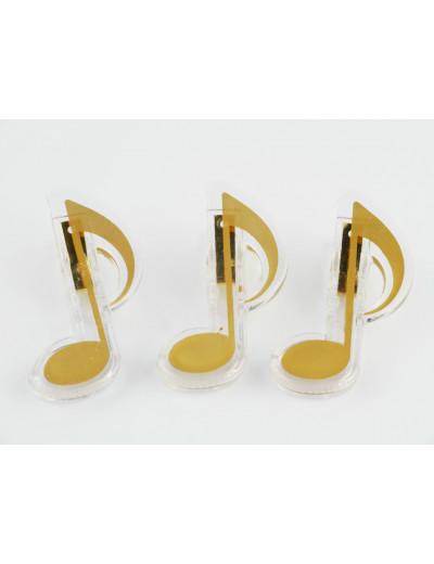 Clip quaver golden