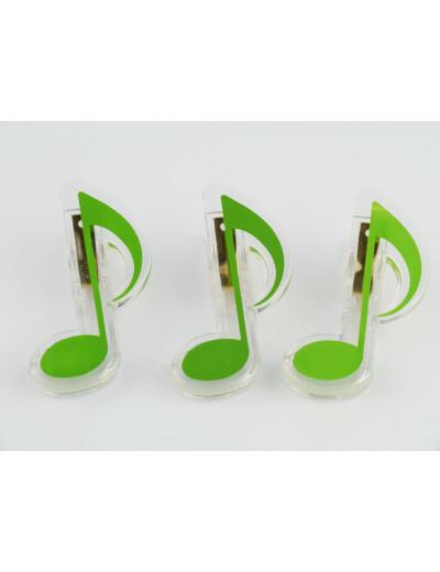 Clip quaver green