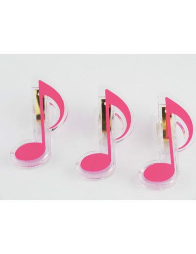 Klammer Achtelnote rosa