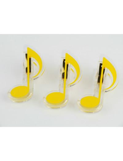 Klammer Achtelnote gelb
