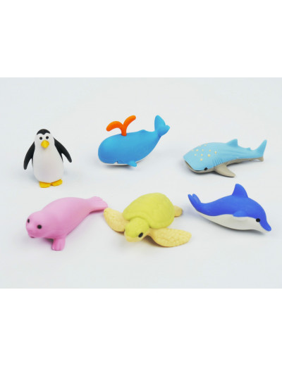 Eraser Sea Animals