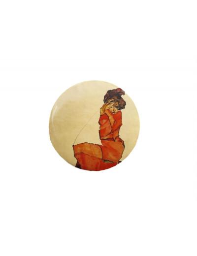 Pocket Mirror Egon Schiele:...