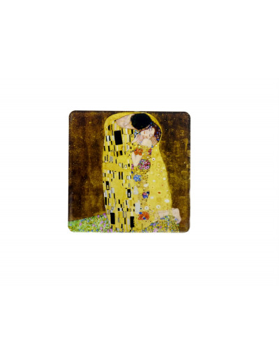 Magnet Coaster Klimt: The Kiss