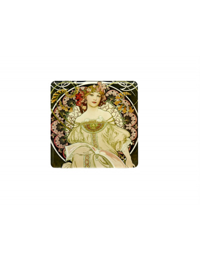 Magnet Coaster Mucha: The...