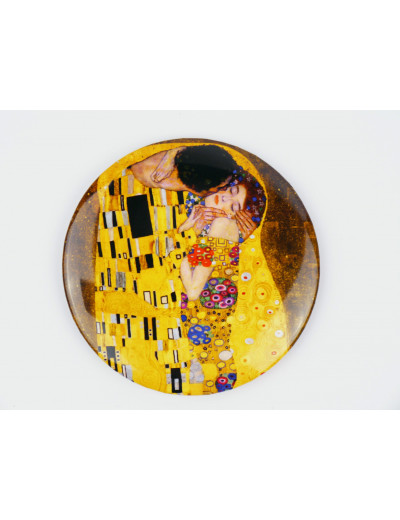 Pocket Mirror Klimt: the Kiss