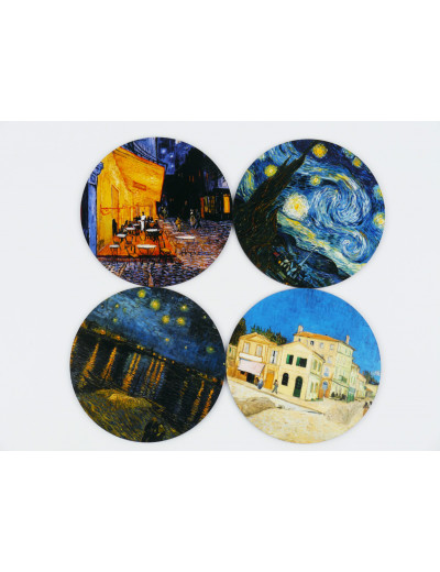 Coaster Set Vincent van...