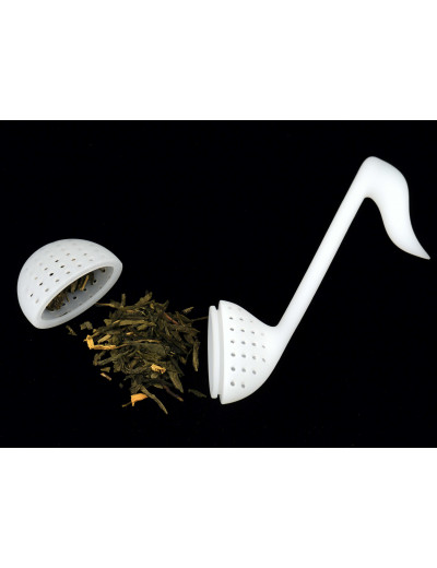 Tea strainer quaver white...