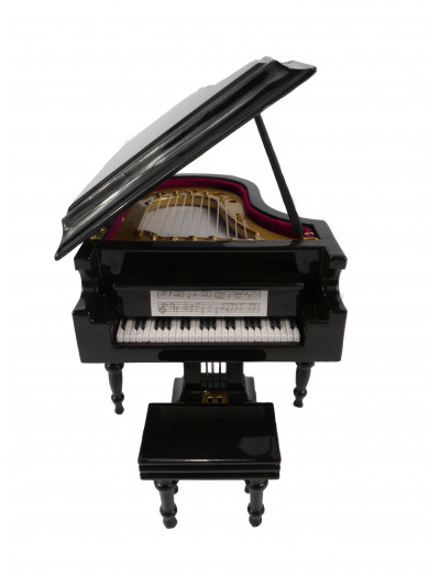 Klavier schwarz mit...