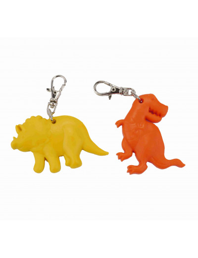 Zipper Charm Dino 2er Pack