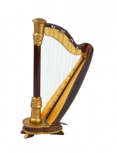 Magnet Harfe Holz