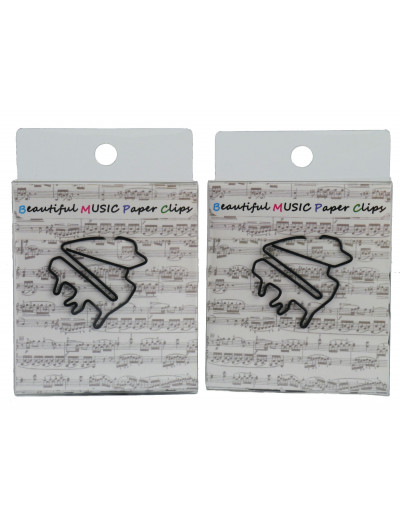 Paper clip piano black (15...