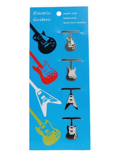 Clip electric guitars 4...