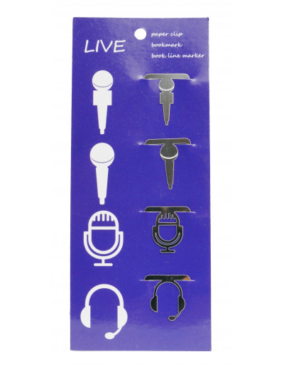 Klammer Mikrofone 4er Pack...