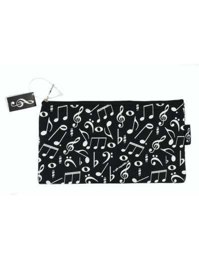Pencil case notes black...