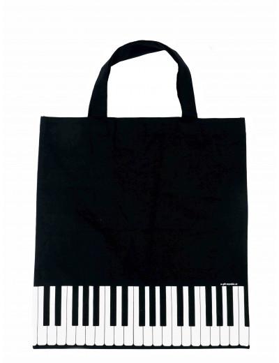 Tote bag keys black