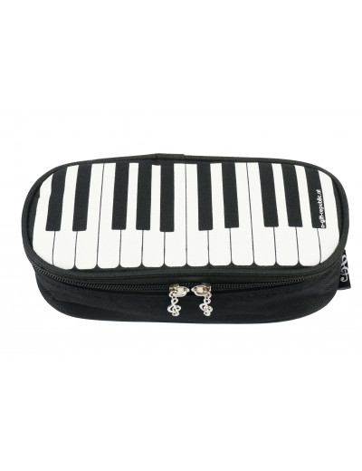 Pencil case keys black LUX