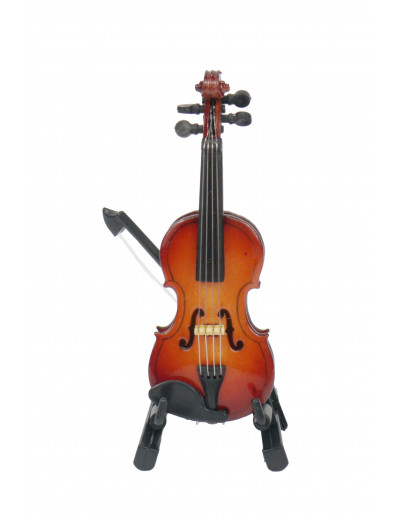 Violin with arc 8 cm with...