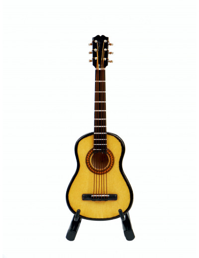 Gitarre 10 cm mit Standfuß...