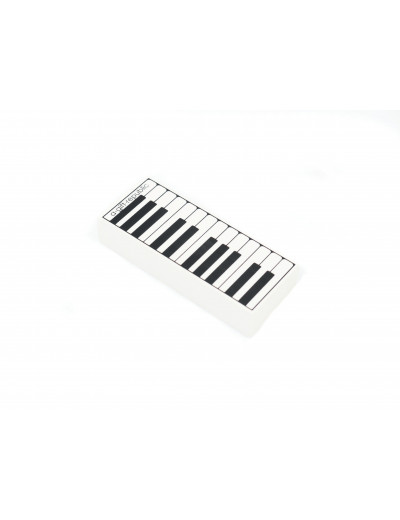 Eraser keyboard white