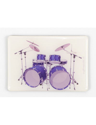 Magnet drum set blue