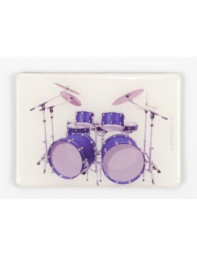 Magnet Schlagzeug blau