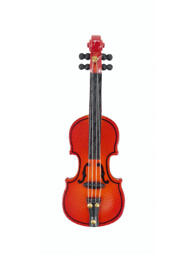 Magnet Geige Holz 8cm