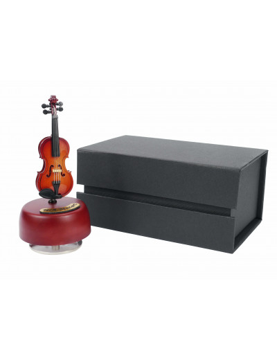 Violin music box with gift...