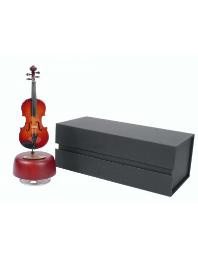 Violin music box ''The Blue...