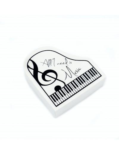Eraser piano shape ''All I...