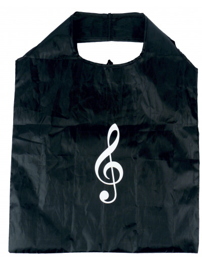 Mini shopper g-clef black