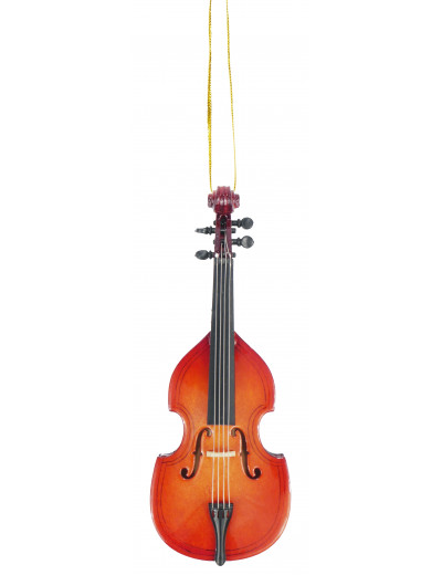 Ornament double bass 13 cm