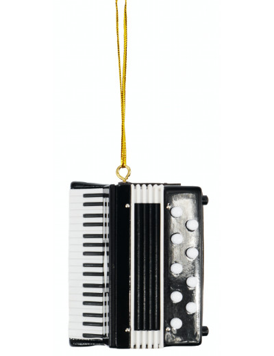 Ornament accordion 6*7 cm