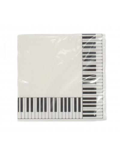 Servietten Tastatur 33*33 cm