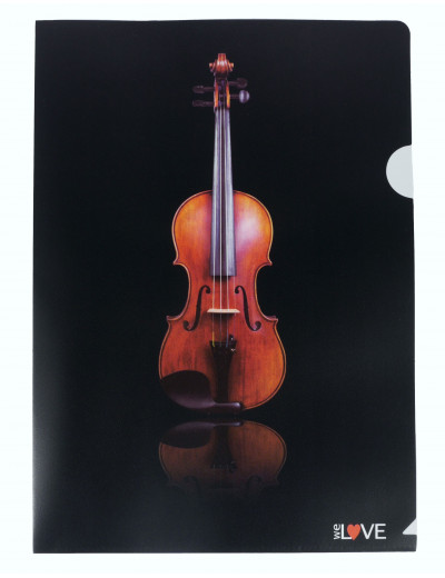 Aktenhülle Geige A4