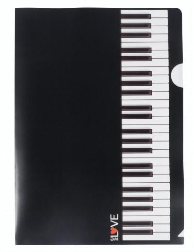 Aktenhülle Tastatur A4