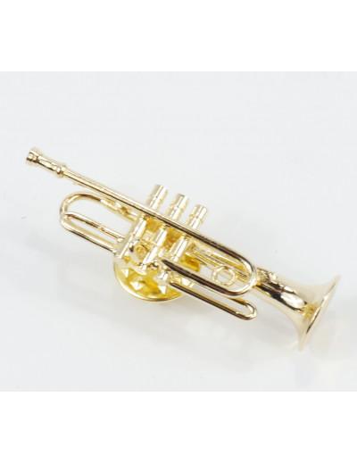 Miniature pin trumpet 4 cm...