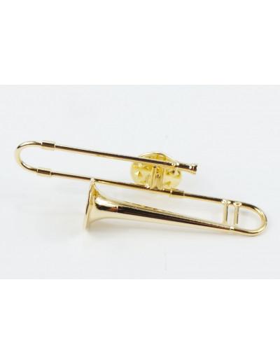 Miniatur pin Posaune 5,5 cm...