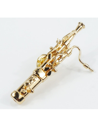 Miniature pin bassoon 6 cm...