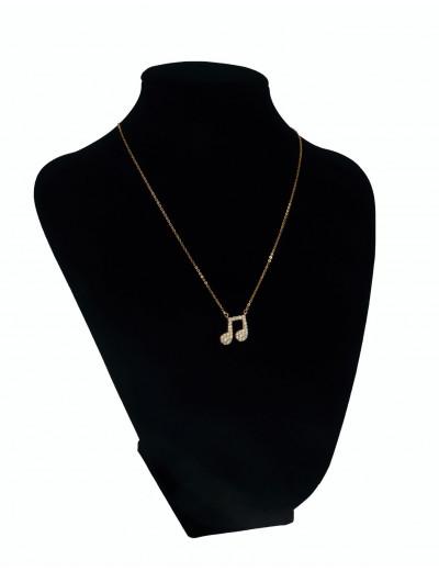 Halskette Achtelnote mit...