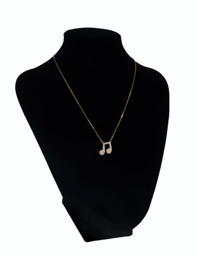Necklace quaver with gift case