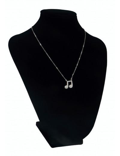 Halskette Achtelnote 1,2 cm...