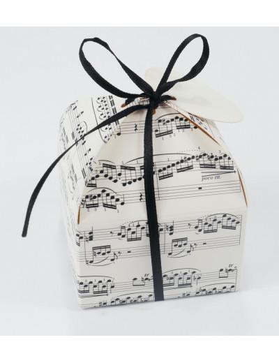 Geschenkbox Notenzeilen...