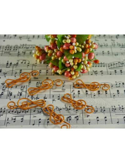 Büroklammer Violinschlüssel...