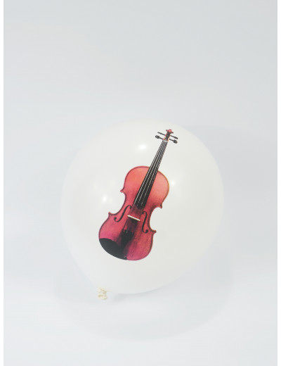 Balloon violin Ø 28 cm latex