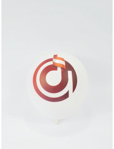 Ballon ''agifty'' weiß Ø 28...