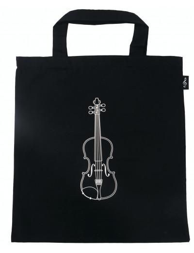 Tragetasche Geige schwarz