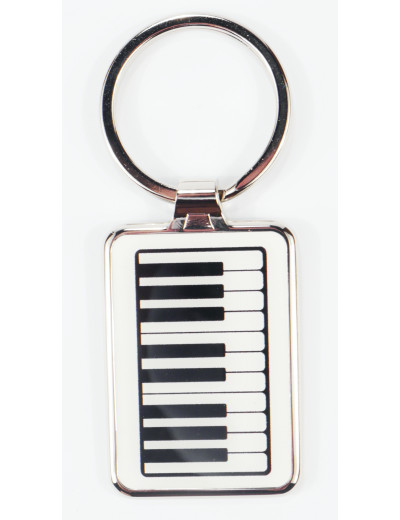 Keyring keyboard metal